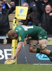 Aviva Premiership: Tom Croft praised after Leicester beat Harlequins