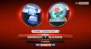 Birmingham 1-1 Blackburn