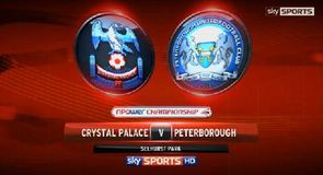 Crystal Palace 3-2 Peterborough