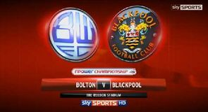 Bolton 2-2 Blackpool