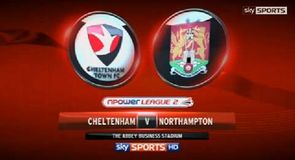 Cheltenham 0-1 Northampton
