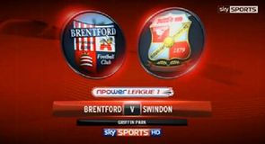 Brentford 3-3 Swindon