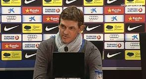 No rush for Vilanova