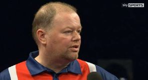 van Barneveld checks out