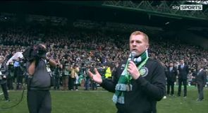 Lennon thanks the fans
