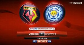 Watford 3-1 Leicester
