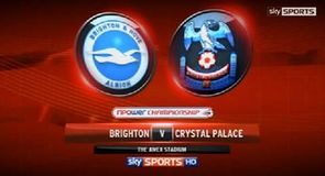 Brighton 0-2 Crystal Palace