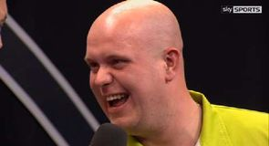 Debut win for Van Gerwen