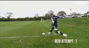 Two-Footed Corner Challenge - West Brom