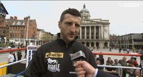 Froch - My fight to lose