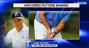 Player delighted with putter ban