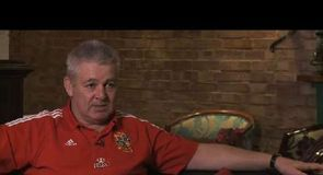 Gatland relished playing against the Lions