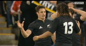 Dan Carter try - 2005, Wellington
