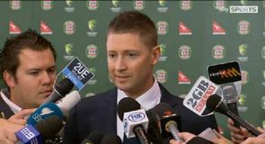 Clarke throws support behind Warner