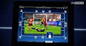 Champions League on iPad