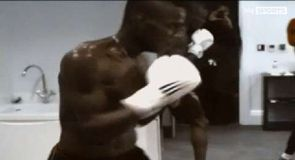 Fighting fit Mario Balotelli