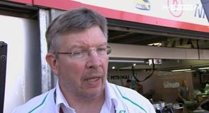 Brawn happy with progress