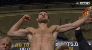 Froch v Kessler II - The weigh-in
