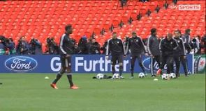 Bayern prepare for final