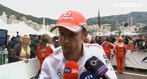 Button dejected after power failure