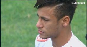 Neymar's emotional Santos farewell