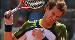 Spaniard sends Murray into a spin