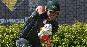 Warner charged after outburst