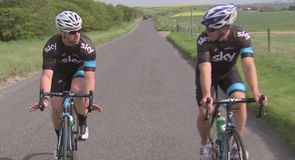 Matt Prior on Team Sky and cycling