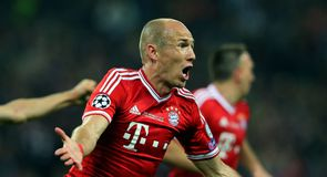 Bayern celebrate Champions League win