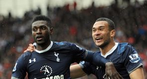 Adebayor back in form
