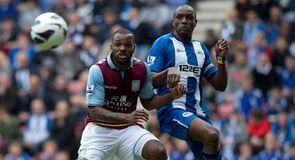 Wigan v Aston Villa