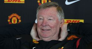 Fergie's final press conference