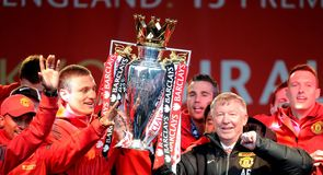 Fergie celebrates one last time