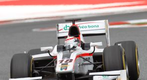 Coletti wins GP2 Sprint Race
