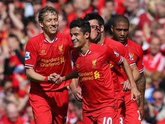 Coutinho: Scored the winner