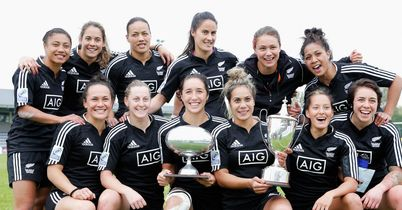 Sevens glory for NZ women