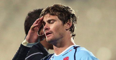Berrick Barnes woe Crusaders v Waratahs 2013