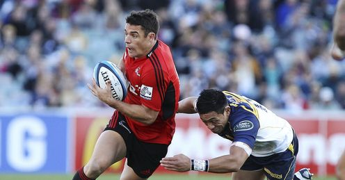 Crusaders ten Dan Carter on a run