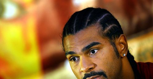 David Haye: has the bug again - and Tyson Fury is after him