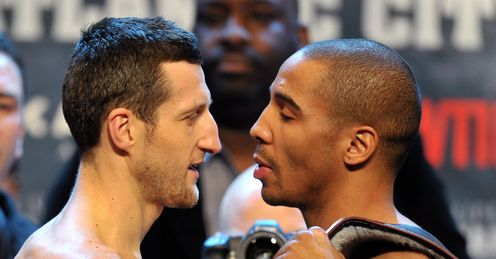 Second chance: will Ward fight Froch in the UK?