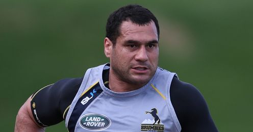 George Smith Brumbies training 2013