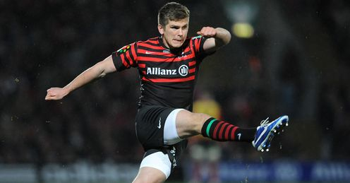 Farrell: does not look to be the second best fly half in Britain and Ireland at the moment