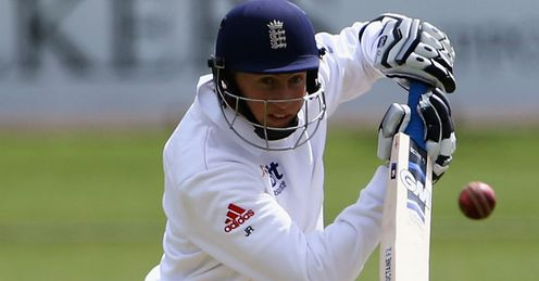 Joe Root of England Lions