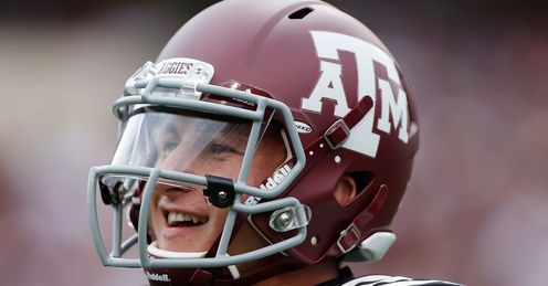 Johnny Manziel: will be one of the most celebrated picks in 2014, says Alex