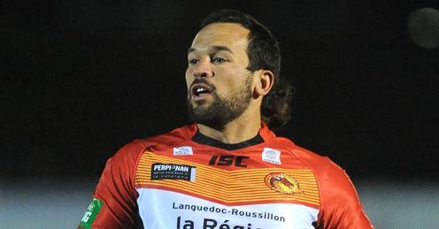 Louis Anderson Catalan Dragons 2013
