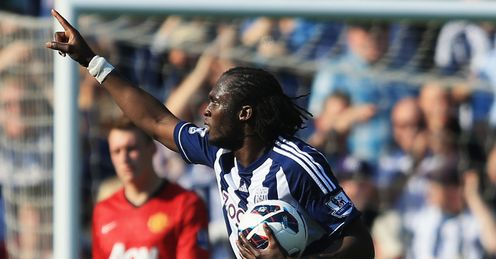 Lukaku: West Brom set a range of records against Manchester United