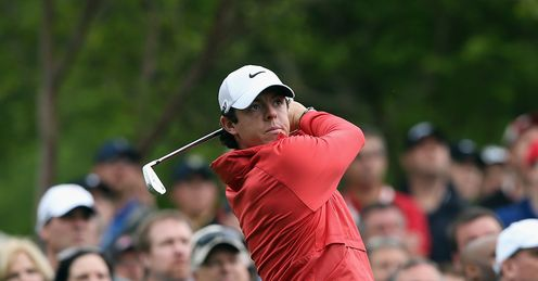 Rory McIlroy: Five under