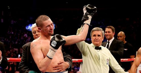 Tony Bellew: was not the big winner when Dawson was beaten