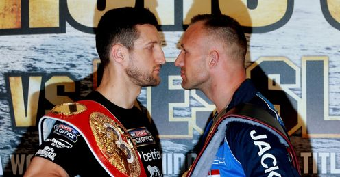 Carl Froch and Mikkel Kessler will do battle for a second time on Saturday