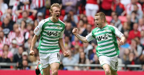 Yeovil victorious at Wembley